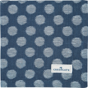 Greengate Geschirrtuch Jacquard Savannah Blue