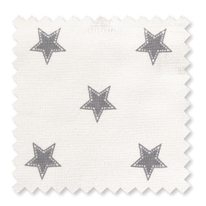 Greengate Stoff Star pale grey